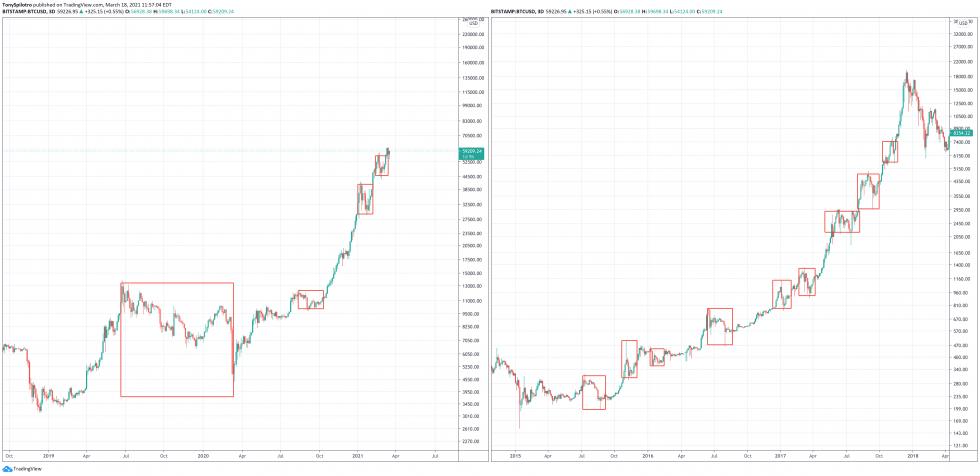bitcoin brandt compared