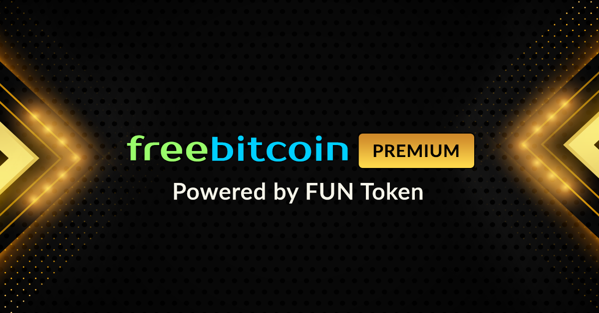 bitcoin gambling website FreeBitco.in Launches Premium Membership Powered by FUN Token for 41M Users