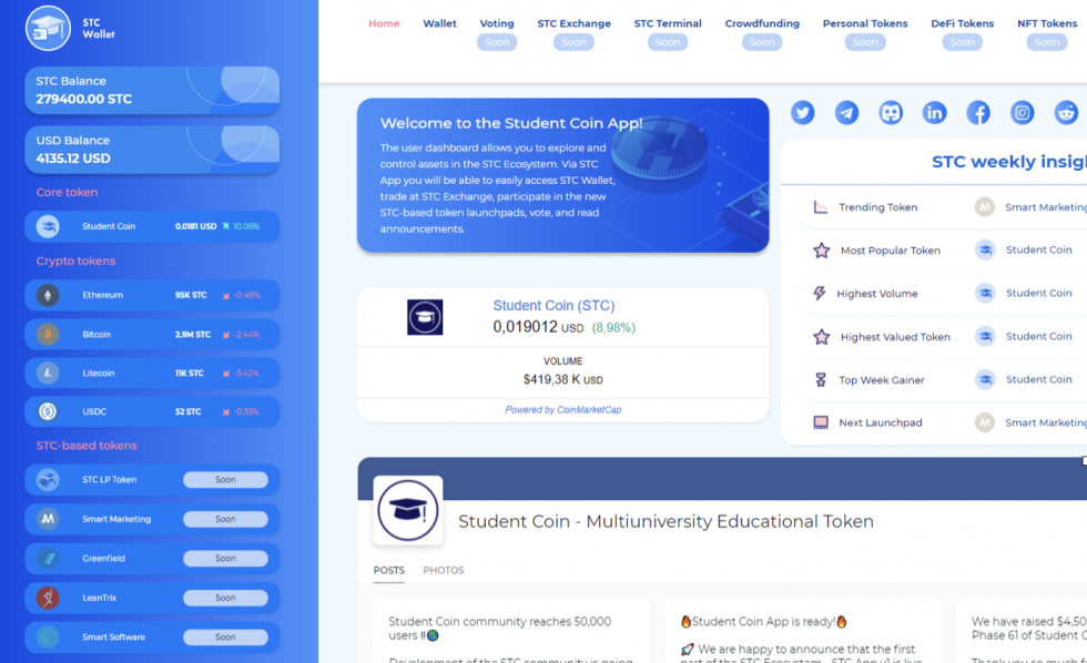 Get Educated On The Student Coin (STC) Initial Coin Offering And Beyond