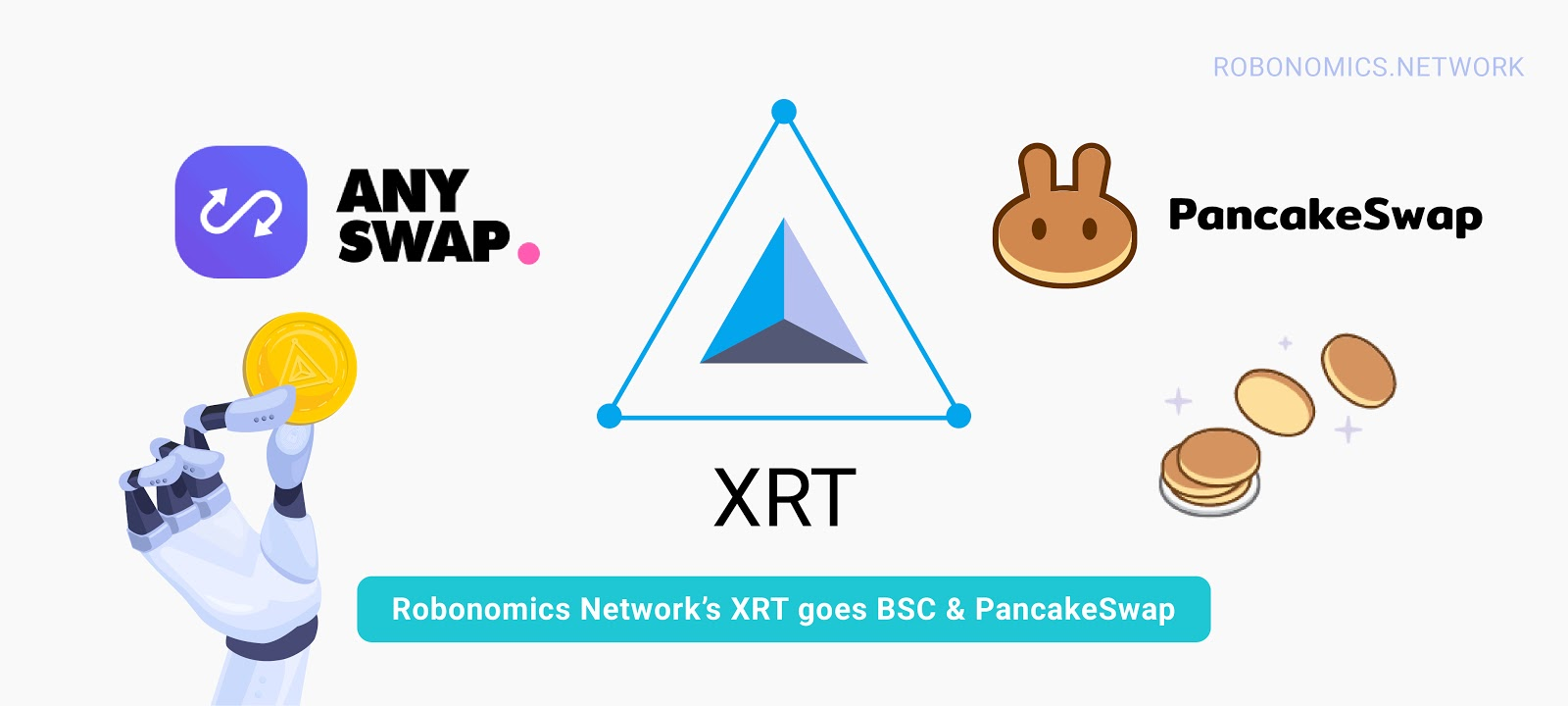 XRT is available On PancakeSwap