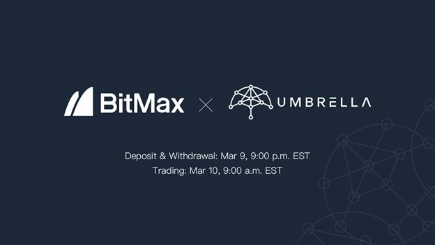 Umbrella to list UMB Token with BitMax