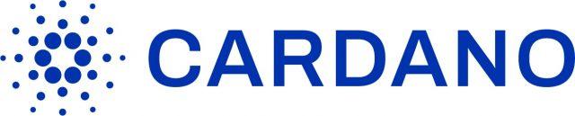Cardano's logo, blue over white