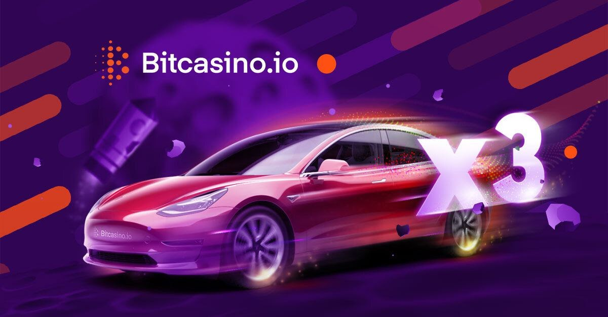 Fly to the Moon and Win One of Three Tesla Cars with New Bitcasino Game, Live Crash