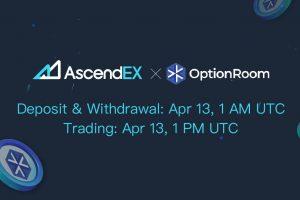 OptionRoom Listing on AscendEX