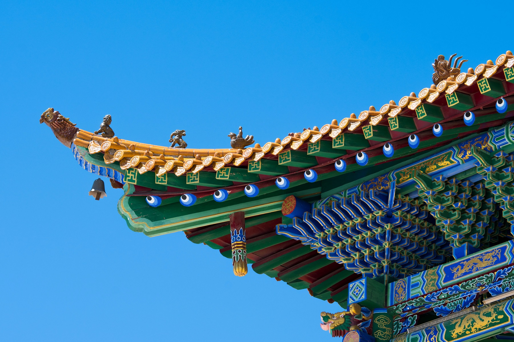 Chinese roof for the Chinese Digital Yuan