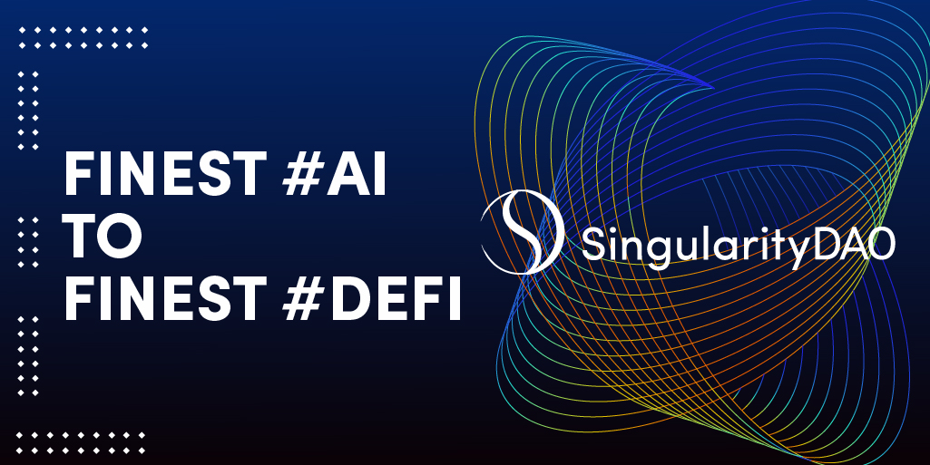 Improving Defi with AI: SingularityDAO Nets $2.7M in Private Sale