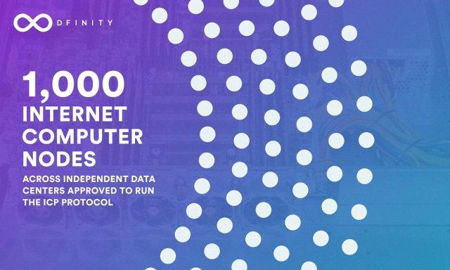 Internet Computer, 1000 Nodes