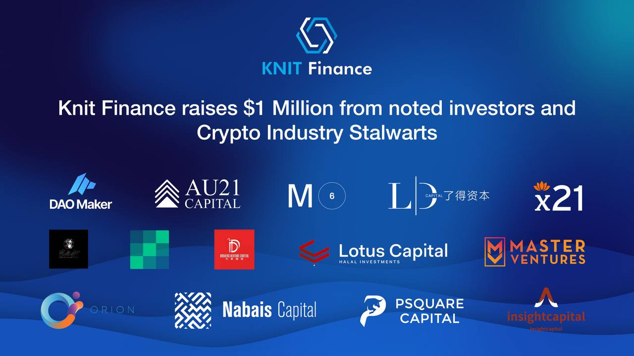 With $1M Worth of Funding, KnitFinance Charges Ahead to Unlock Trillion Dollar Market in DeFi | Bitcoinist.com