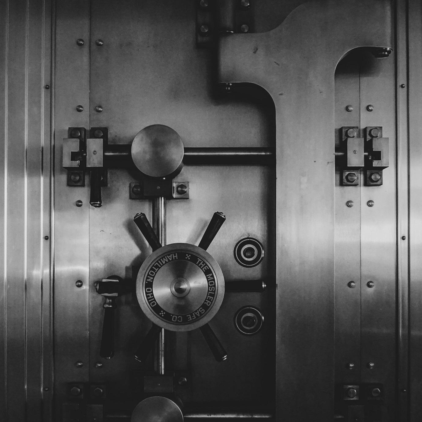 DeFi Total Value Locked. A safe.