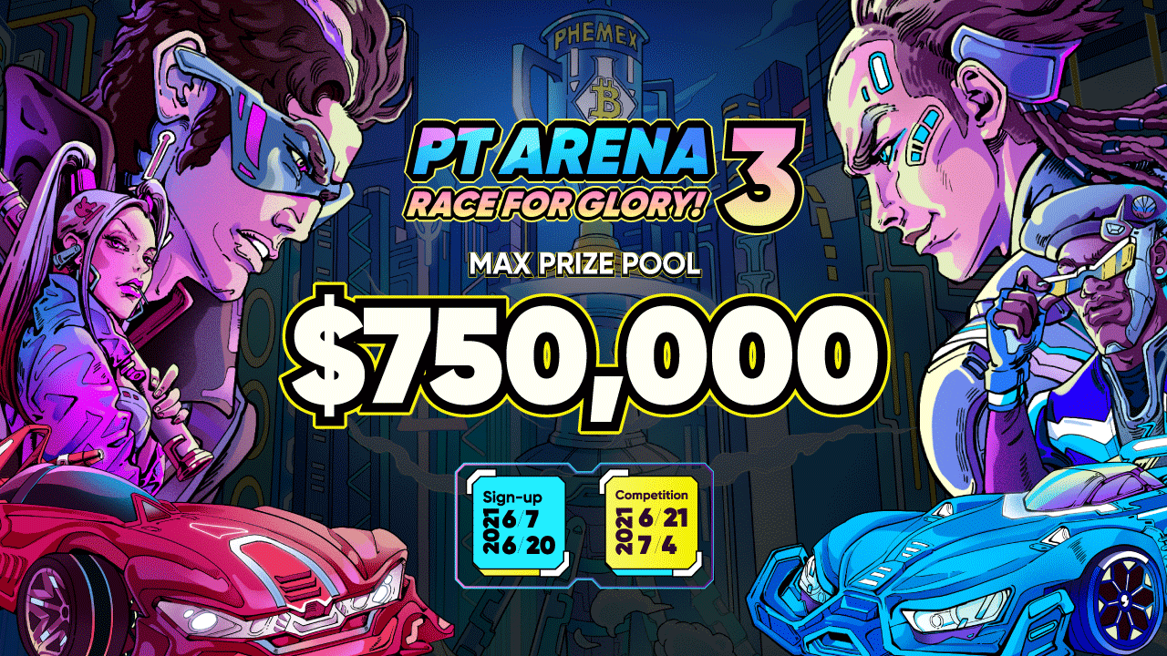Phemex's 3rd Trader's Arena Returns with Bitcoin Prices, Money, And Glory
