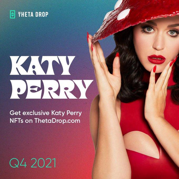 Známá popová zpěvačka Katy Perry uvádí na trh svůj NFT