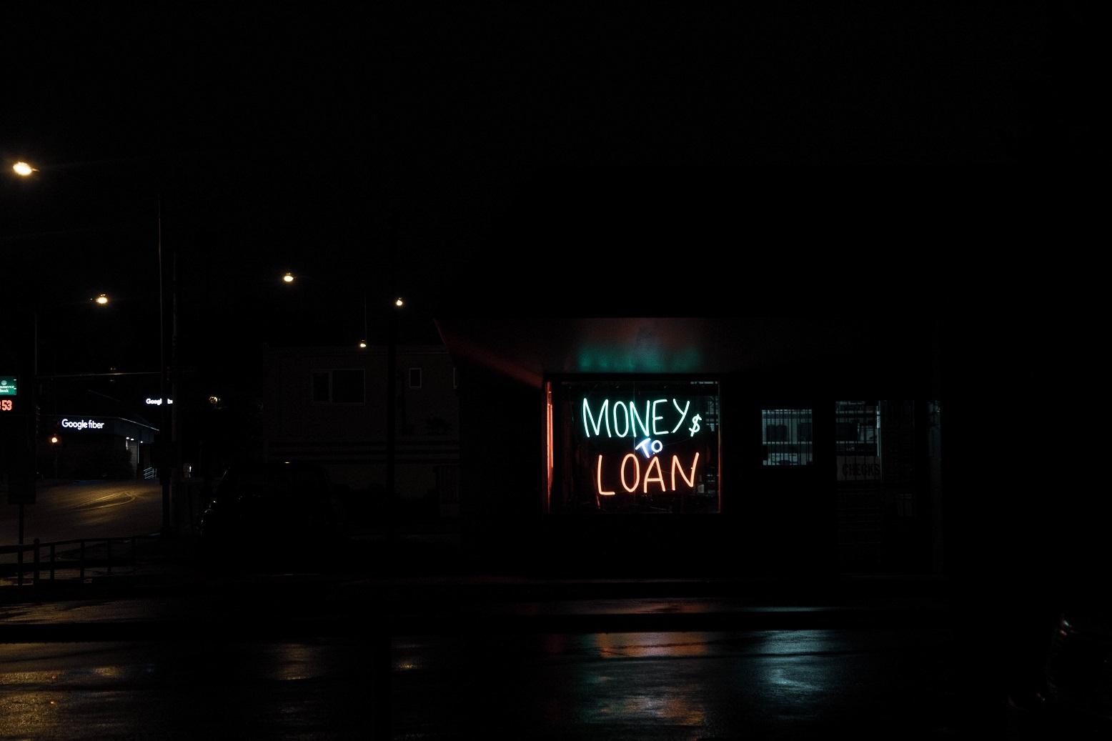 Flash Loans, a loan shark shop