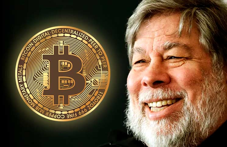 """Apple Co-Founder Says Bitcoin Is A """"Miracle,"""" It's Better Than Gold"""