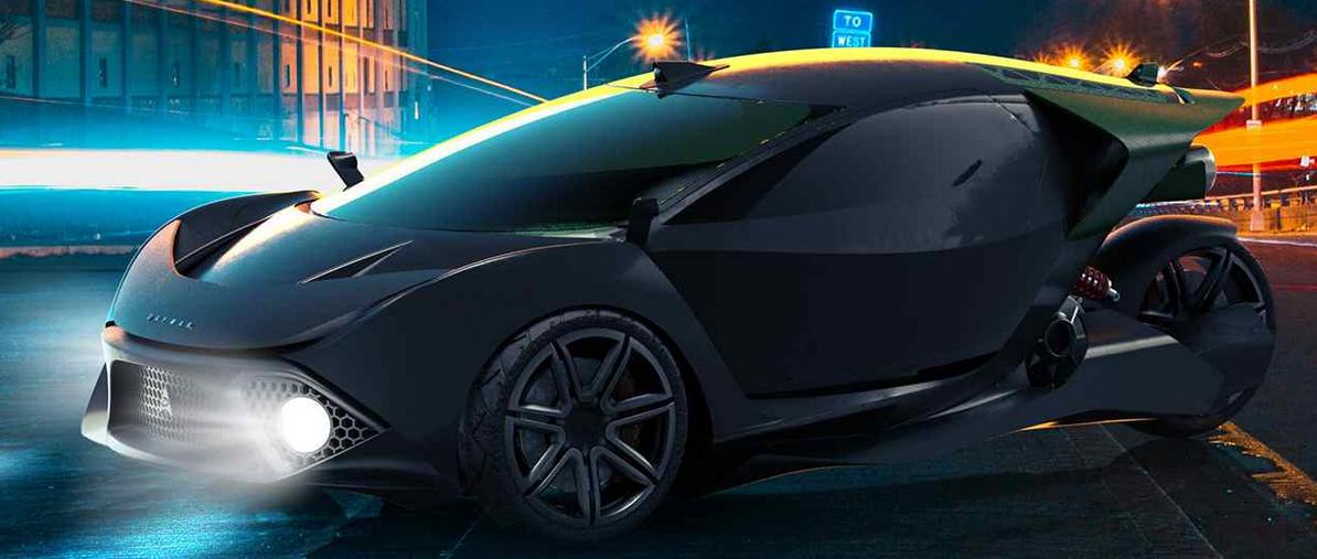 World's first crypto mining car - the Spiritus