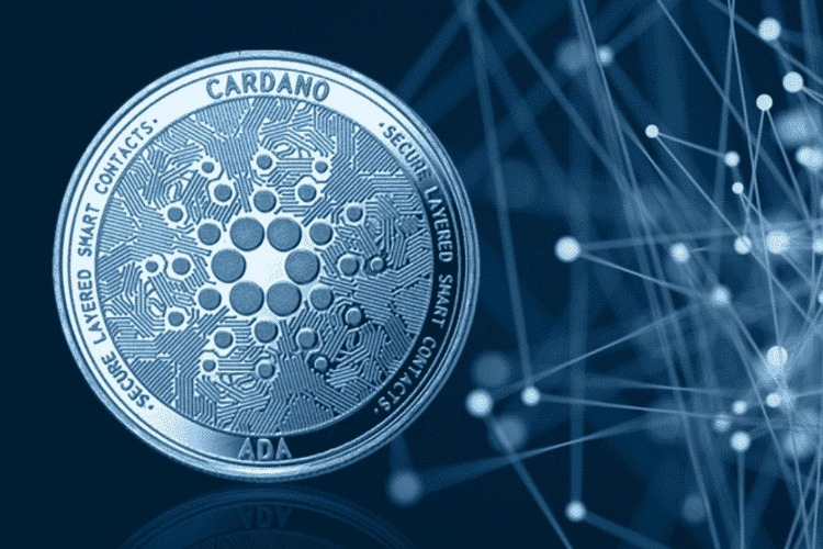 Picture of a cardano coin, depicting Alonzo hard fork move to mainnet