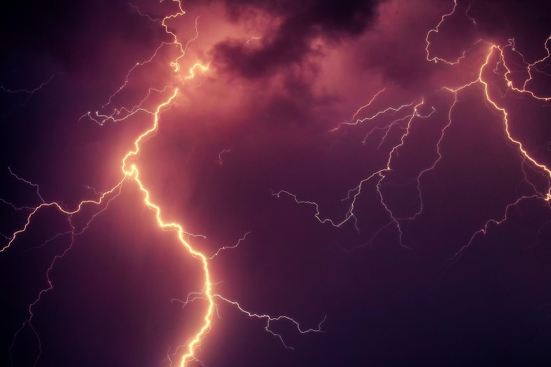 JPMorgan, a lightning in the sky