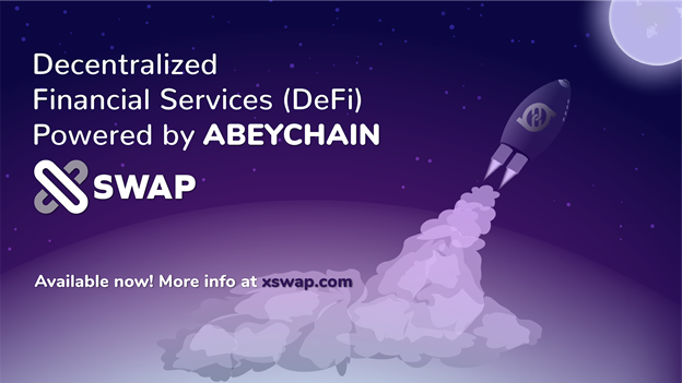 ABEY Foundation Launches XSWAP: New Decentralized Cryptocurrency Exchange