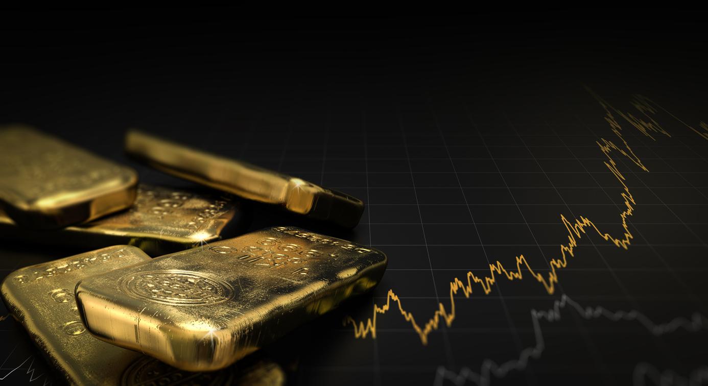 bitcoin gold bullion fractal iStock-629743180