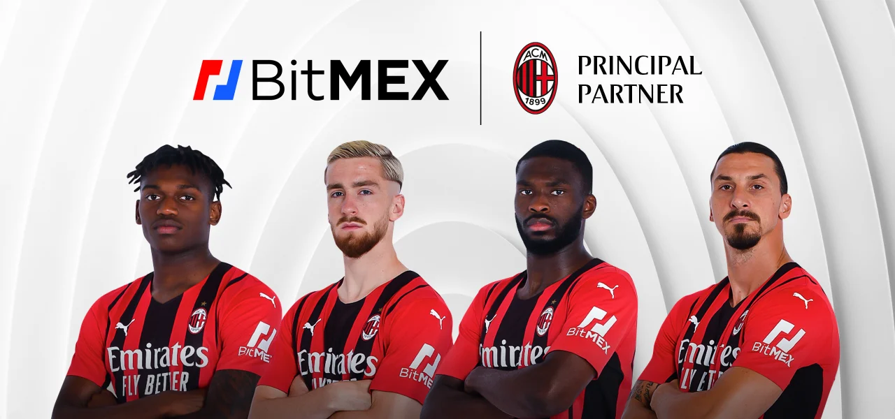 Crypto Exchange BitMEX Signs Sponsorship Deal With Soccer Club AC Milan