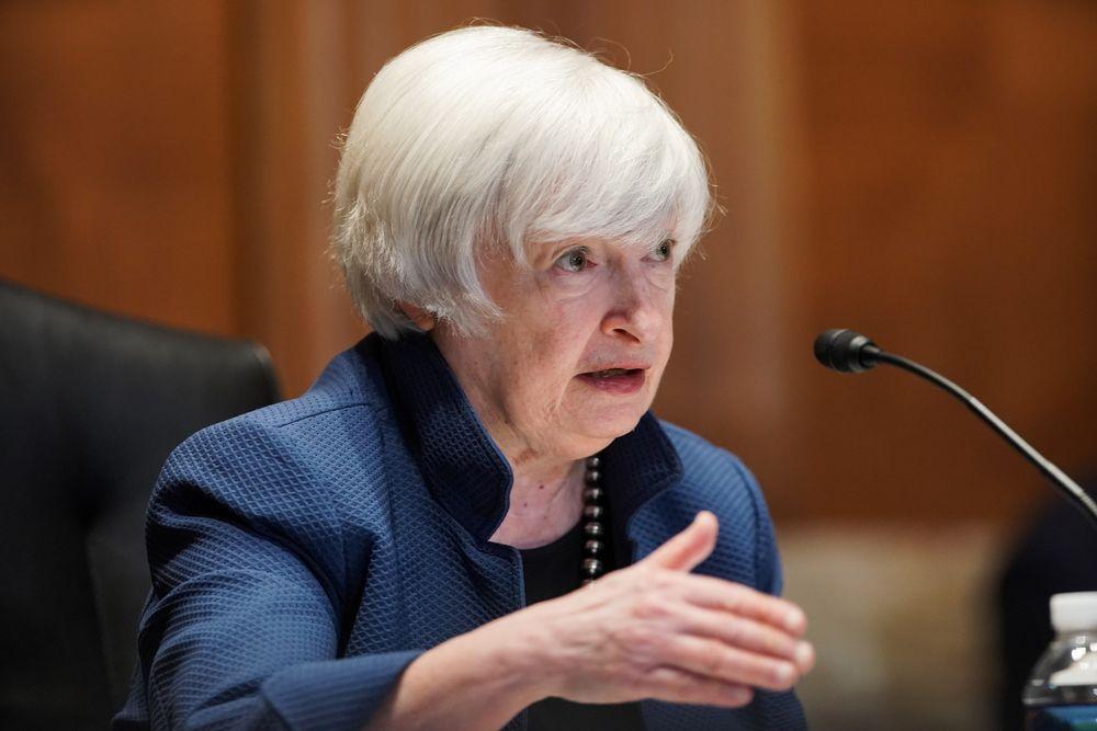 Picture of U.S. Treasury Secretary Janet Yellen