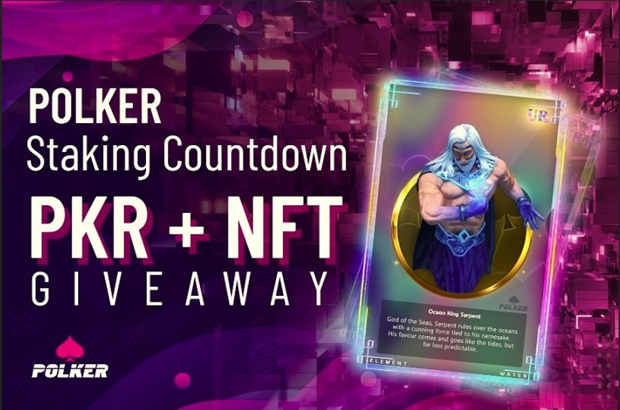 Akon Endorsed Platform Polker Reveal Staking Countdown and NFT Giveaway