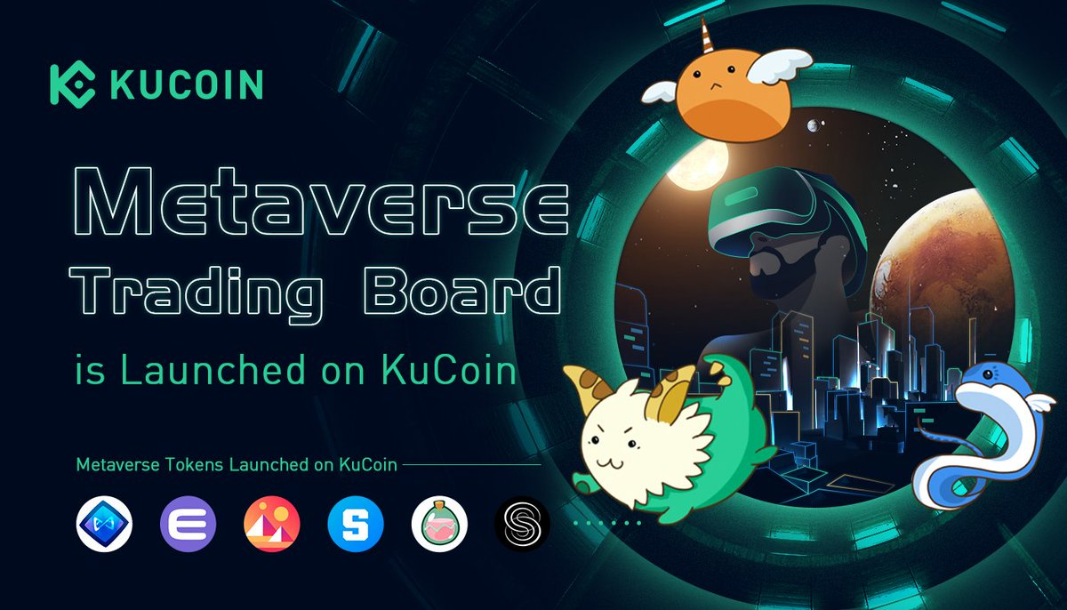 KuCoin Launches First-Ever Metaverse Trading Section For GameFi Trading