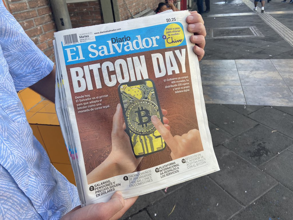 El Salvador's First Day Under Bitcoin Law, First-Hand Testimony + Video
