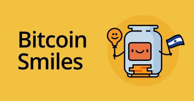 El Salvador, Bitcoin Smiles logo