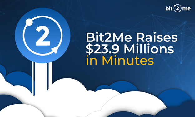 Bit2Me Raises $23.9M in Minutes Securing the Future of Spain's Fastest Growing Exchange