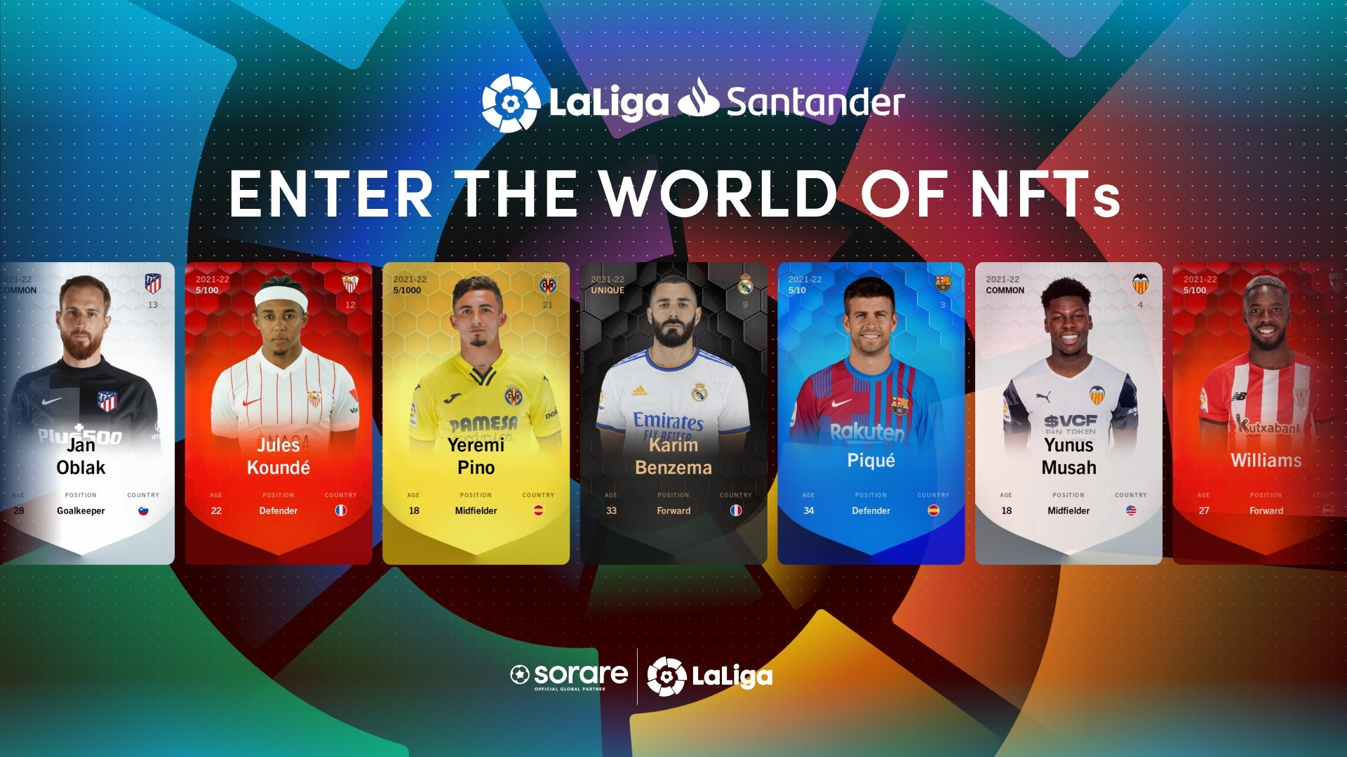 Spanish Soccer League LaLiga To Offer NFTs Of All Players