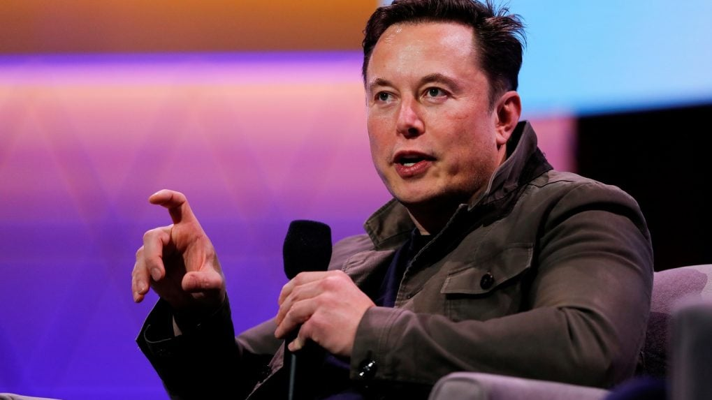 Picture of SpaceX CEO Elon Musk