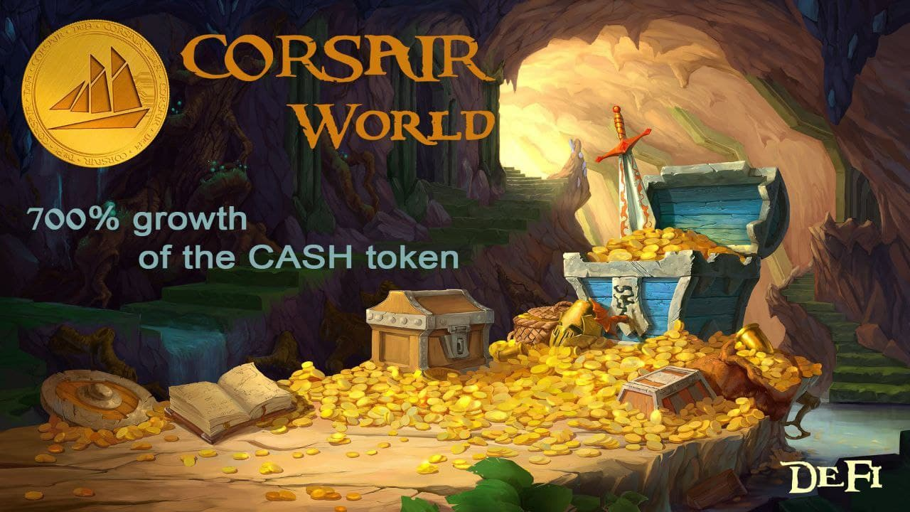 """Corsair World DeFi: """"We Already Gave First Holders 700% In Just One Month"""""""