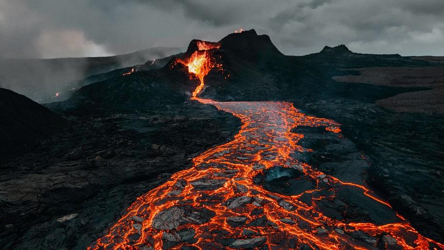 Volcano Bitcoin Mining, a volcano