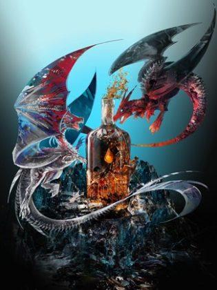 Liquid Crafts Dragons and Bourbon Series