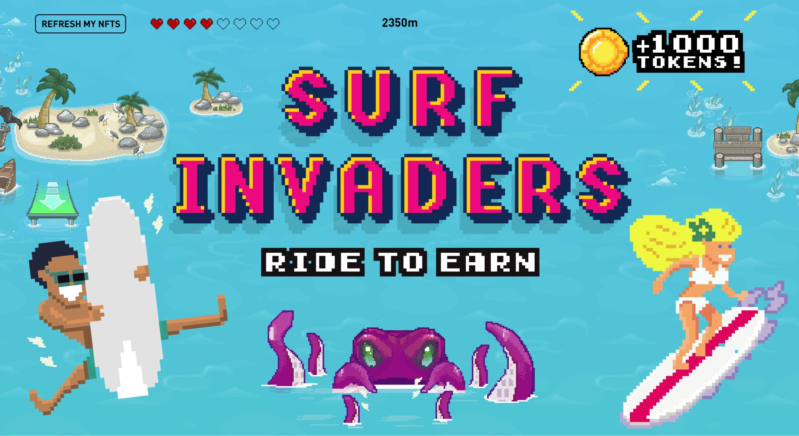 surf invaders